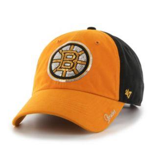 '47 Brand Boston Bruins Sparkle Adjustable Cap - Women's
