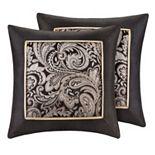Madison Park Wellington Jacquard 2-piece Throw Pillow Set