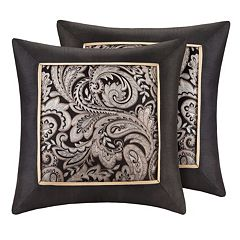 Madison Park Wellington Jacquard 2 pc Throw Pillow Set
