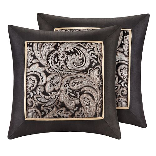Madison Park Wellington Jacquard 2-piece Throw Pillow Set
