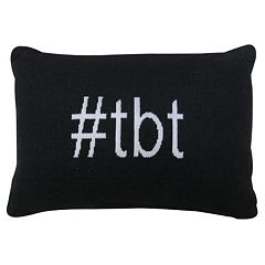 Park B. Smith ''Hashtag TBT'' Throw Pillow