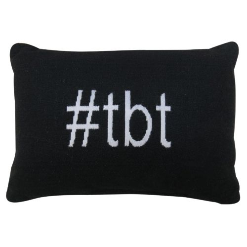 "Park B. Smith ""Hashtag TBT"" Throw Pillow"