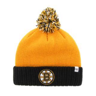 Youth '47 Brand Boston Bruins Dunston Knit Beanie