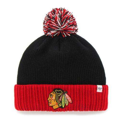 Youth '47 Brand Chicago Blackhawks Dunston Knit Beanie