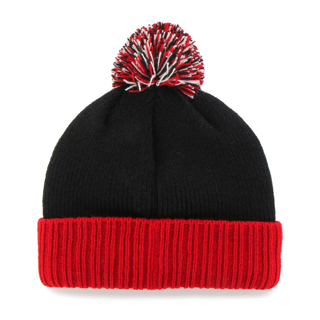 Youth '47 Brand Chicago Blackhawks Dunston Knit Beanie