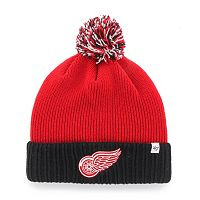 Youth '47 Brand Detroit Red Wings Dunston Knit Beanie