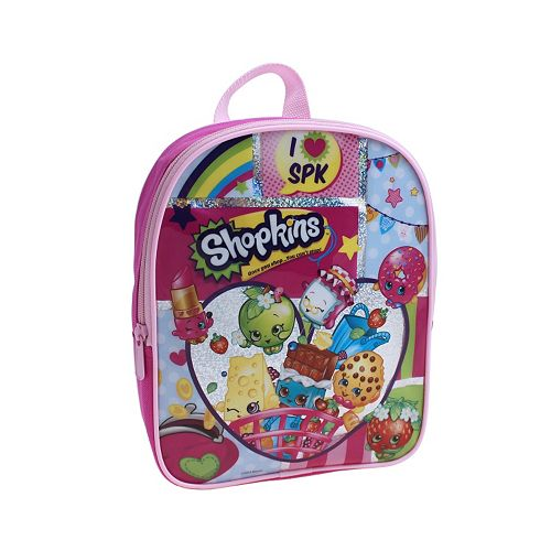 Shopkins Girls Mini Backpack
