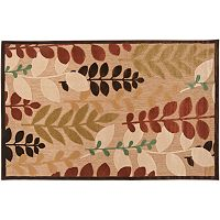 Artisan Weaver Clarkston Leaf Indoor Outdoor Rug
