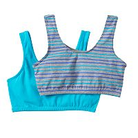 Trimfit 2-pk. Crop Sports Bras - Girls 6-16