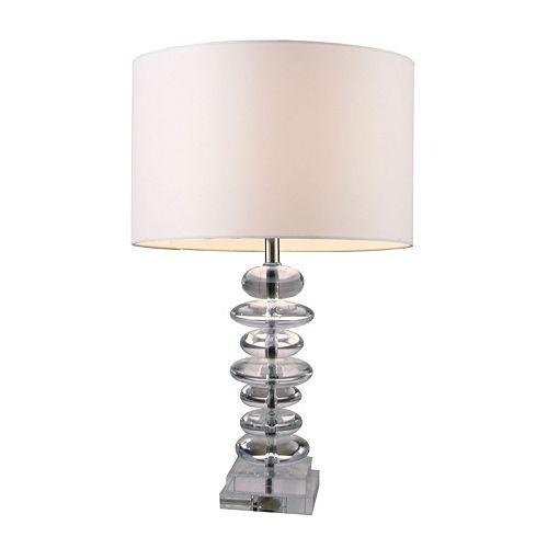 Dimond Trump Home Madison 3-Way Crystal Table Lamp