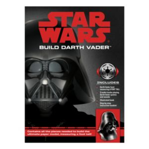 Star Wars Build Darth Vader Deluxe Papermodel Kit