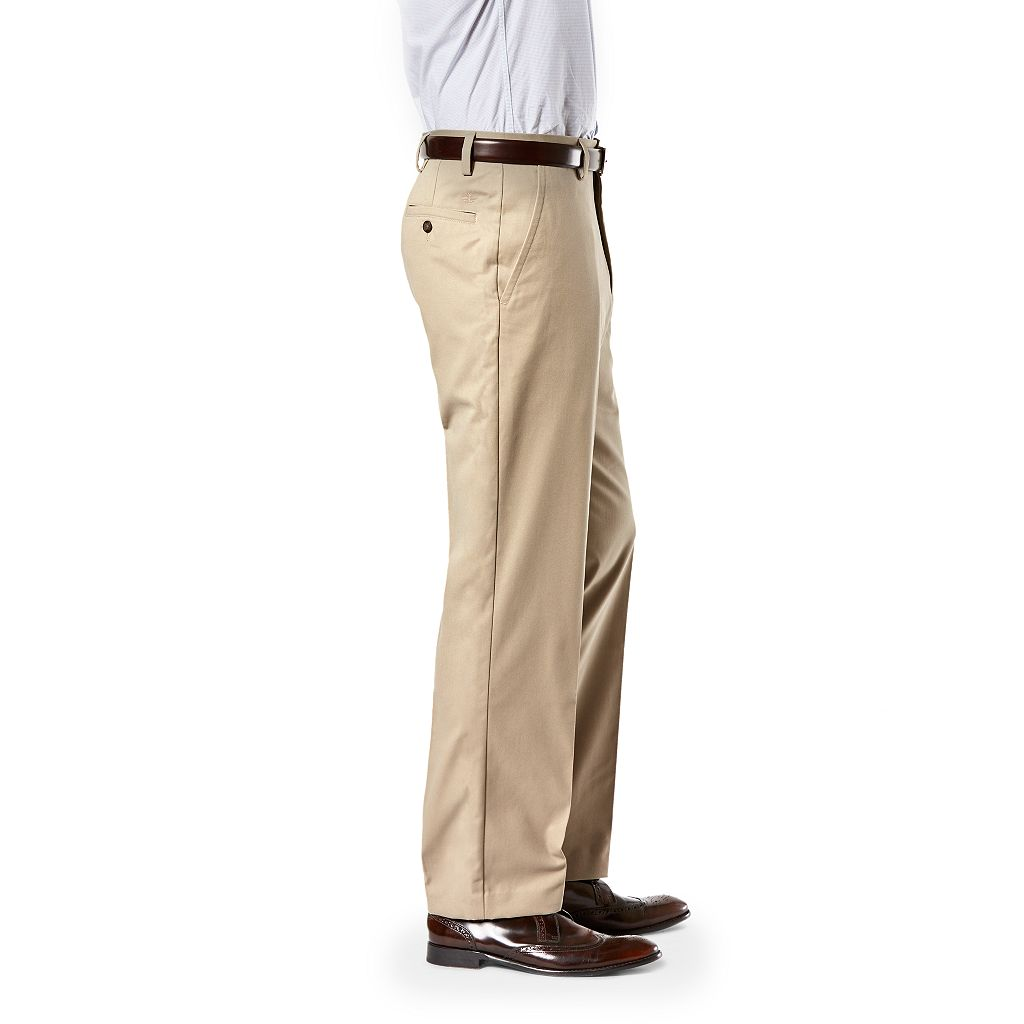 Men's Dockers Relaxed-Fit Easy Khaki Flat-Front Pants