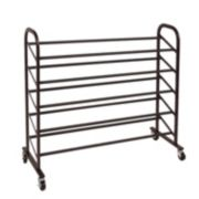 Richards Homewares 25-Pair Rolling Shoe Rack