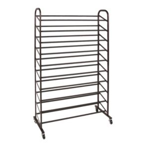 Richards Homewares 50-Pair Rolling Shoe Rack