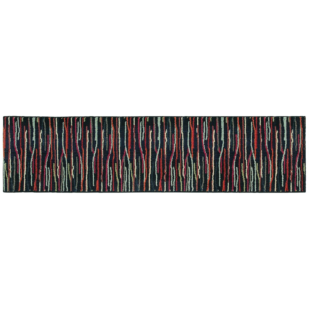 PANTONE UNIVERSE™ Expressions Multi Color Lines Rug - 9'9'' x 12'2''
