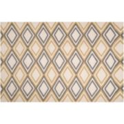 Artisan Weaver Colville Diamond Reversible Wool Rug