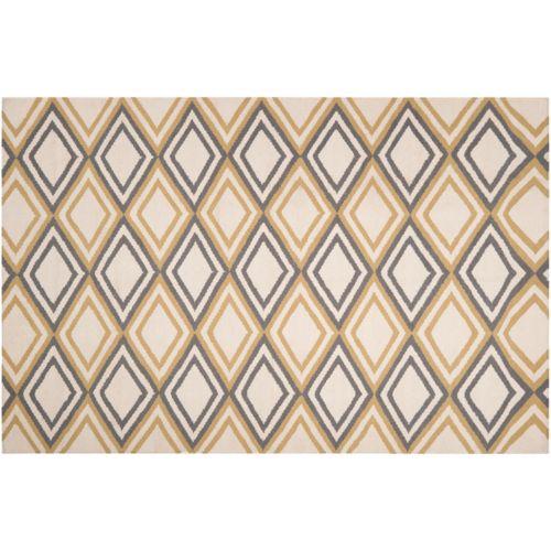 Artisan Weaver Colville Diamond Reversible Wool Rug