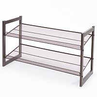 Richards Homewares 2-Tier Stackable Flat Shoe Rack