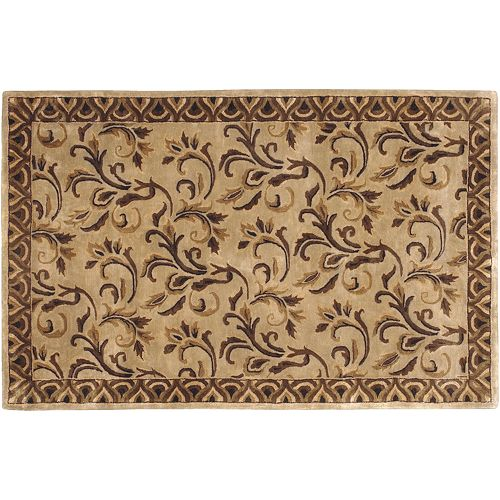 Artisan Weaver Colwood Scroll Wool Rug