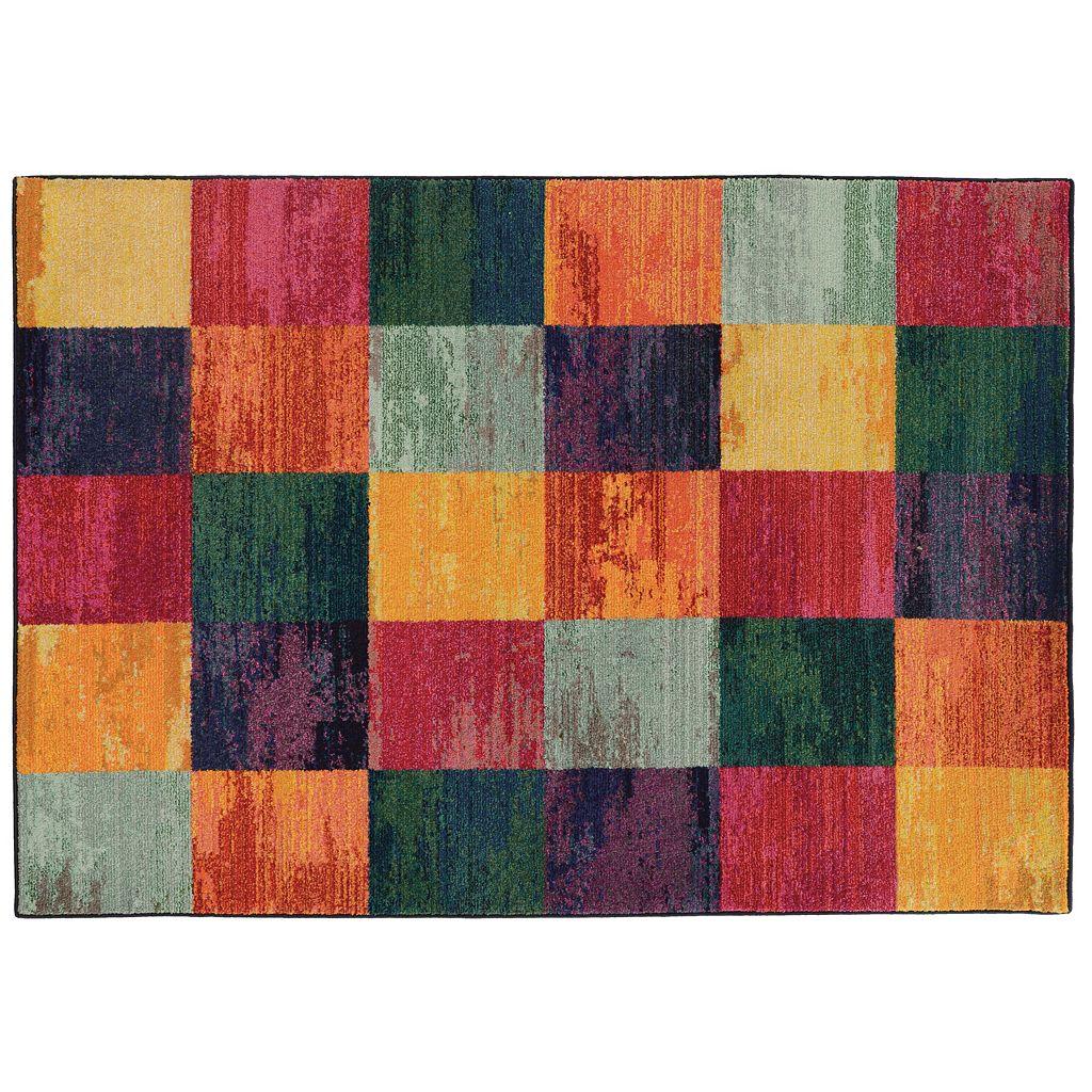 PANTONE UNIVERSE™ Expressions Geometric Block Rug - 9'9'' x 12'2''