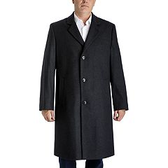 Men's Tower by London Fog Wool-Blend Top Coat