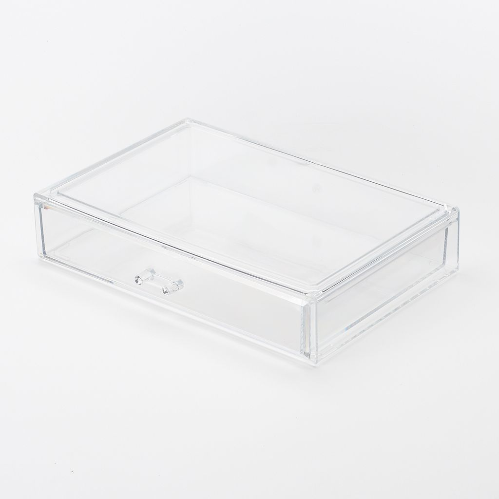 Richards Homewares Clearly Chic Stackable Cosmetic Drawer