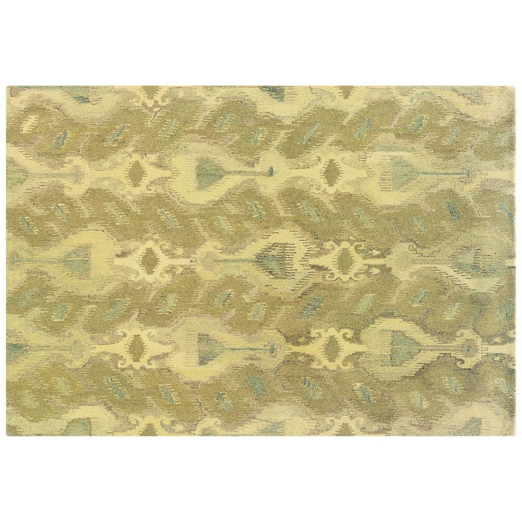 StyleHaven Anna Abstract Ikat Wool Rug - 10' x 13'