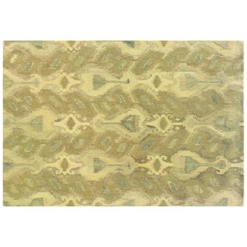 StyleHaven Anna Abstract Ikat Wool Rug - 10' x 13'