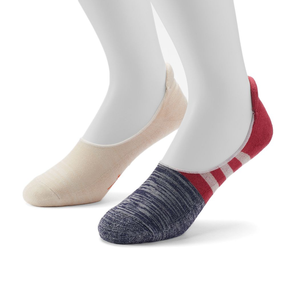 Men's Dockers® 2-pack Colorblock No-Show Socks
