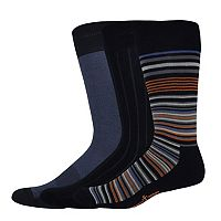 Men's Dockers® 3-pack Patterned Dress Socks