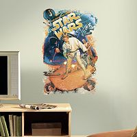 Star Wars Retro Peel and Stick Wall Decal