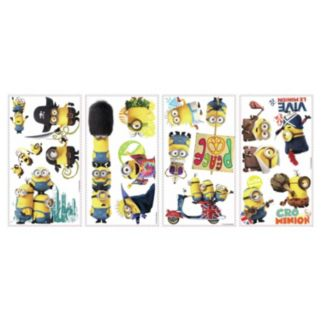 Minions Movie Peel and Stick Wall Decals