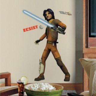 Star Wars Rebel Ezra Peel and Stick Wall Decals