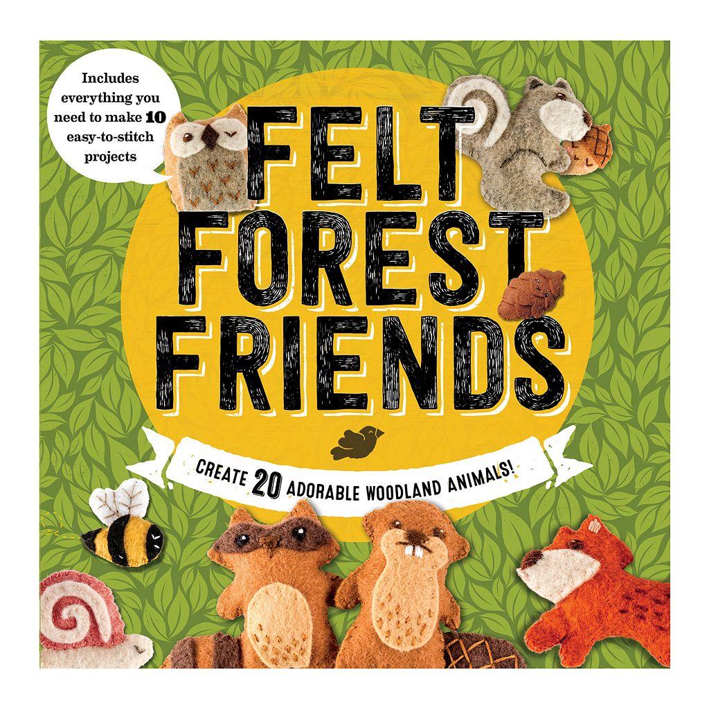 Becker & Mayer Felt Forest Friends Kit