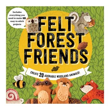 Becker & Mayer Felt Forest Friends Kit