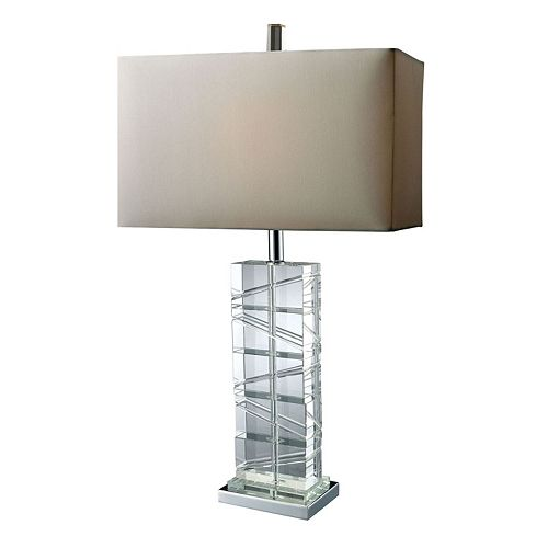 Dimond Avalon Clear LED Table Lamp
