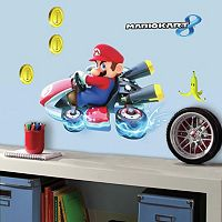 Mario Kart 8 Peel and Stick Wall Decal