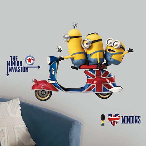 Minions The Movie Peel and Stick Wall Decals