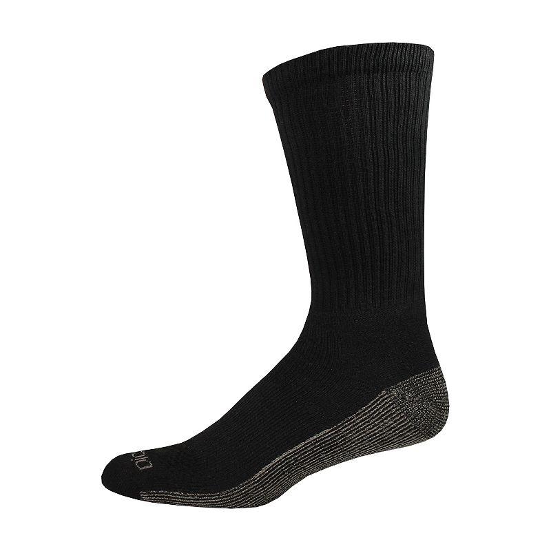 Dickies 6-pack Dri-Tech Comfort Crew Socks - Big & Tall