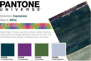 PANTONE UNIVERSE™ Expressions Impressionist Abstract Rug - 9'9'' x 12'2''