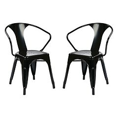 OSP Designs 2 pc Metal Chair Set