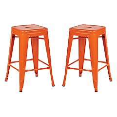 OSP Designs 2 pc Backless Counter Stool Set