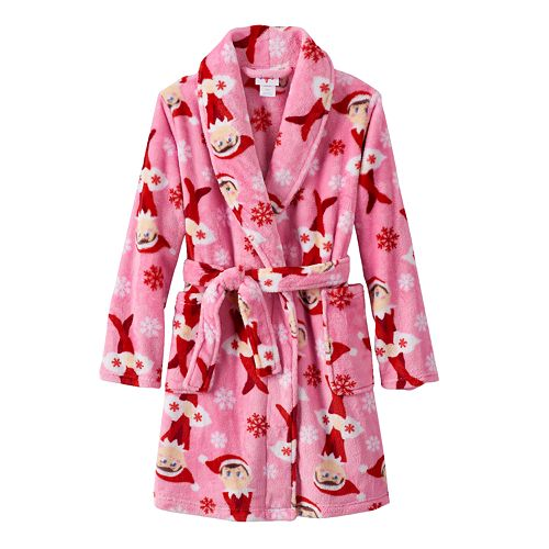 The Elf on the Shelf® Girls 4-10 Fleece Robe