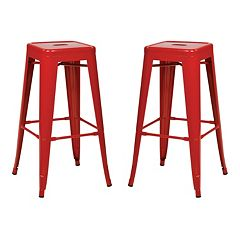 OSP Designs 2-piece Backless Bar Stool Set