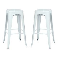 OSP Designs 2 pc Backless Bar Stool Set