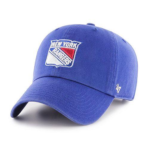 Adult '47 Brand New York Rangers Clean Up Adjustable Cap