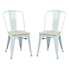 OSP Designs 2 pc Bristow Vintage Dining Chair Set