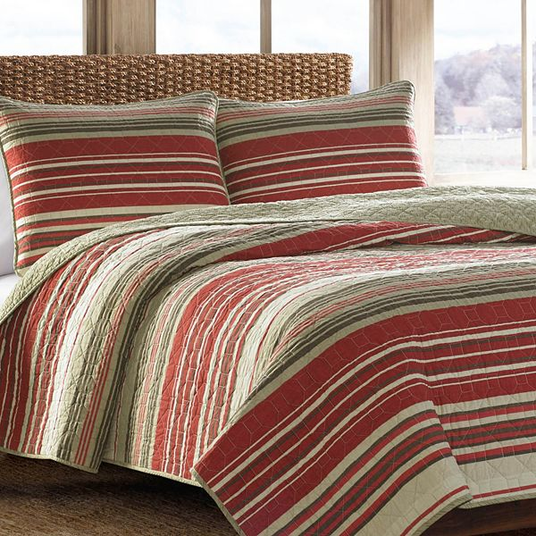 Eddie Bauer Yakima Valley Reversible Quilt Set