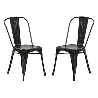 OSP Designs 2-piece Bristow Armless Dining Chair Set
