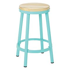 OSP Designs Bristow Metal Backless Counter Stool